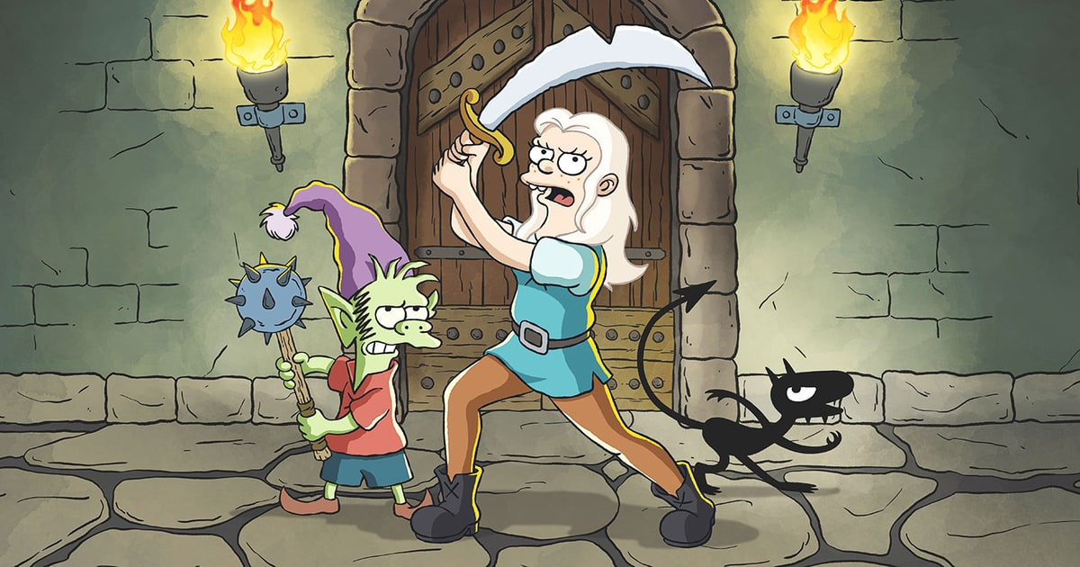 'Simpsons' Creator Sets Streaming Date for Netflix Series 'Disenchantment'