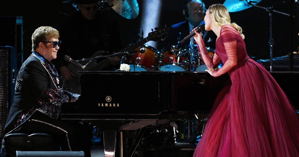 2018 Grammys: Watch Elton John, Miley Cyrus' 'Tiny Dancer' Duet At