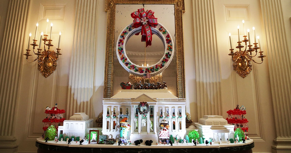 O holy night see the white house 39 s 2016 christmas for Christmas home decor 2016