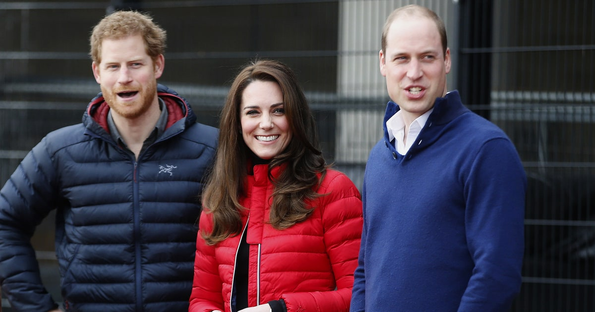 Prince William, Harry, Duchess Kate Face Off in Charity Race