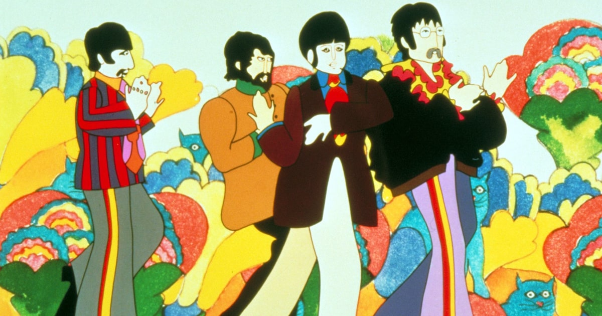Beatles Plan Yellow Submarine 50th Anniversary Comic