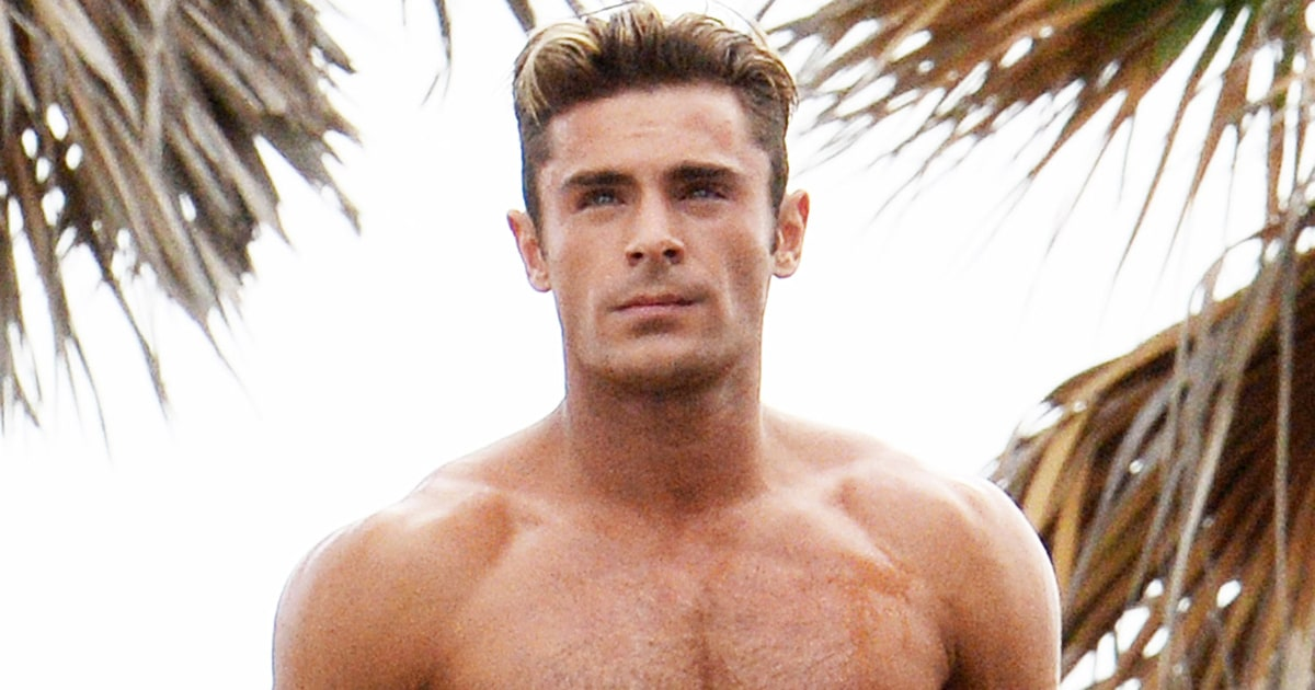 Zac Efron Got Ripped for 'Baywatch' to Not Look 'Tiny' Next to The ... Zac Efron