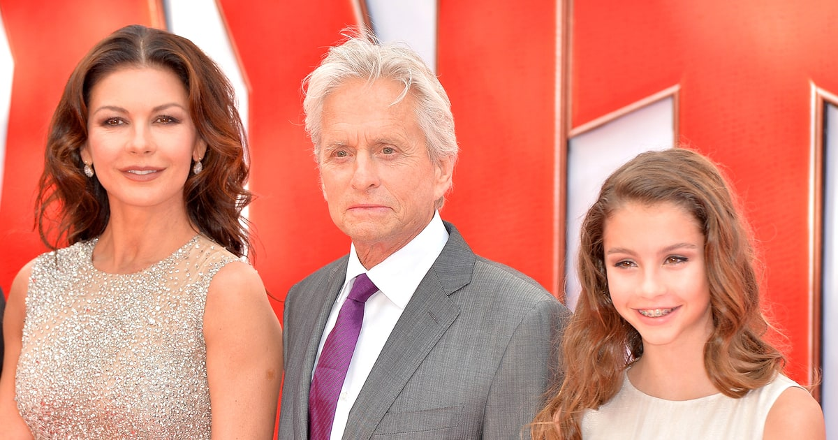 Catherine Zeta-Jones' Teen Daughter Looks Just Like Her: Pic - Us ... Beauty And The Beast Belle Pink Dress