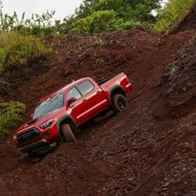 Toyota's TRD Pro Tacoma and Tundra: Rugged Face, Refined Drive