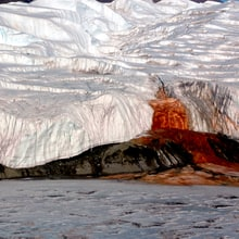 The Mystery of Antarctica's Blood Falls Is Finally Revealed