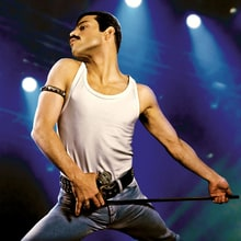 Watch Rami Malek as Freddie Mercury, Recreating Queen's Live Aid Show