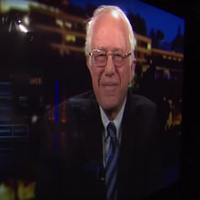 Watch Bernie Sanders Recap DNC, Urge Hillary Support on 'Real Time'