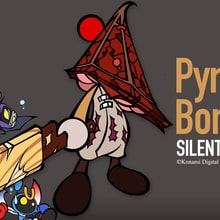 Adorable Pyramid Head Coming to 'Super Bomberman R'