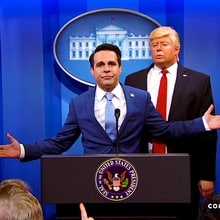 Mario Cantone Nails Anthony Scaramucci Impression on 'The President Show'