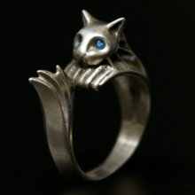 You Can Now Buy a 'Dark Souls 2' Cat Ring