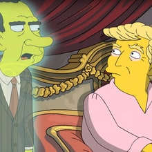 Watch Richard Nixon's Ghost Visit Donald Trump in 'Simpsons' Short