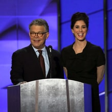 See Al Franken Skewer Trump, Sarah Silverman Slam 'Bernie or Bust' at DNC