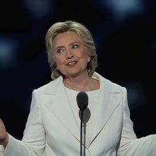 Watch Hillary Clinton's Passionate, Historic DNC Speech