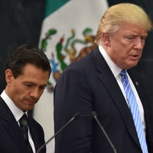 Donald 'Mexicans Are Rapists' Trump Goes to Mexico