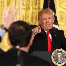 18 WTF Moments From Trump's Unhinged Press Conference
