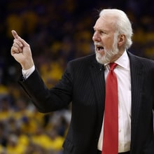 Spurs Coach Gregg Popovich Calls Donald Trump a 'Soulless Coward'