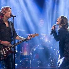 See Keith Urban, Spice Girls' Mel C Sing 'Fighter' on 'Graham Norton'