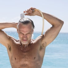Get Rid of Grey Hair While You Shower