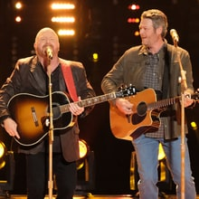 See Blake Shelton, 'Voice' Team Sing Hank Williams Jr.