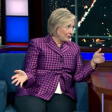 Hillary Clinton Recalls Encounter With 'Manspreading' Vladimir Putin