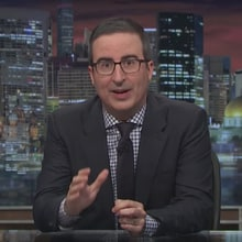 John Oliver: Harvey Weinstein Is 'Sex Criminal Version of the Kool-Aid Man'