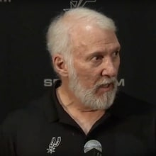 Spurs Coach Gregg Popovich on Trump: 'Our Country Is an Embarrassment'