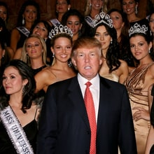 A Timeline of Donald Trump's Creepiness While He Owned Miss Universe