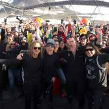 Metallica Play a Dome in Antarctica