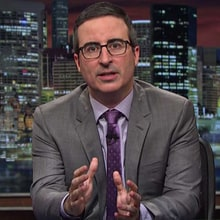 Watch John Oliver Prove Ivanka Trump, Jared Kushner Aren't White House Heroes