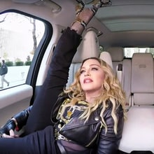Watch Madonna Twerk, Talk Kissing Michael Jackson on 'Carpool Karaoke'
