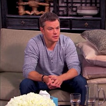Watch Matt Damon, Jimmy Kimmel Return to Couples Counseling