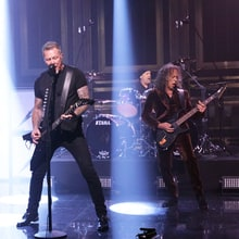 Watch Metallica Scorch 'Fallon' With 'Moth Into Flame'