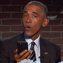 Barack Obama Taunts Trump, Reads Mean Tweets on 'Kimmel'