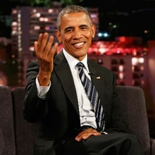Obama Talks Dangers of Trump Campaign, Golf With Bill Murray on 'Kimmel'
