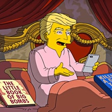 Watch 'The Simpsons' Skewer Donald Trump's First 100 Days