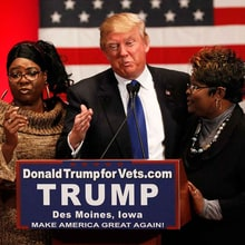 Meet the Black Women Defending Trump's Record on Race