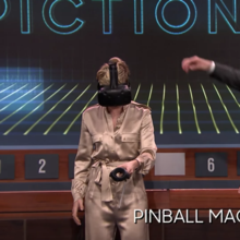 Watch Scarlett Johansson Play Virtual Reality 'Pictionary' In Google's Tiltbrush