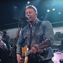 See Luke Bryan, Dierks Bentley Cover Merle Haggard on 'Colbert'