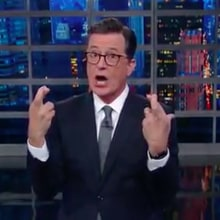 Colbert to Trump: 'You Showed Us Who You Were' After Press Conference