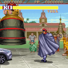 Watch M. Bison from 'Street Fighter 2' Get His Butt Kicked by a Toyota