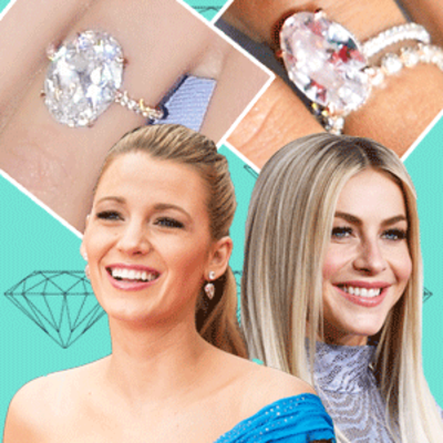 Shop the Celebrity-Adored Oval Engagement Ring Trend