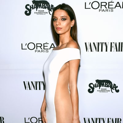 'Westworld' Actress Angela Sarafyan Ditches Her Underwear in Sheer-Paneled Dress