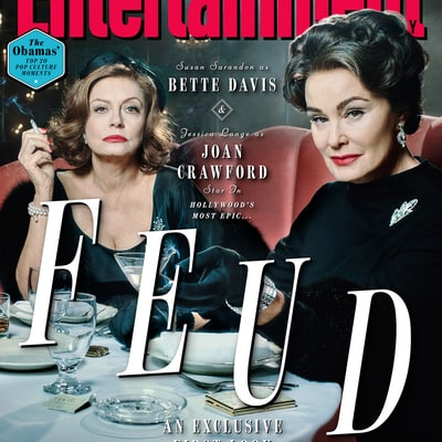 Get Your First Look at Jessica Lange as Joan Crawford and Susan Sarandon as Bette Davis in 'Feud'
