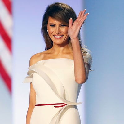 All the Details on Melania Trump's Inaugural Ball Dress