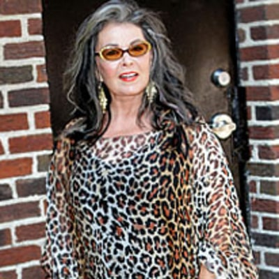 Write a Fashion Police Caption for Roseanne Barr