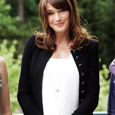 Carla Bruni Names Daughter Giulia!