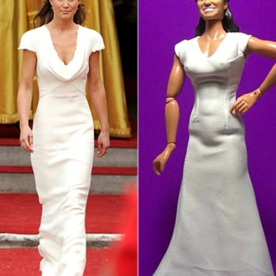 See Kate and Pippa Middleton's Weird, Muscular Action Figures