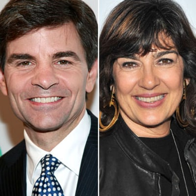 George Stephanopolous Replaces Christiane Amanpour at ABC's This Week