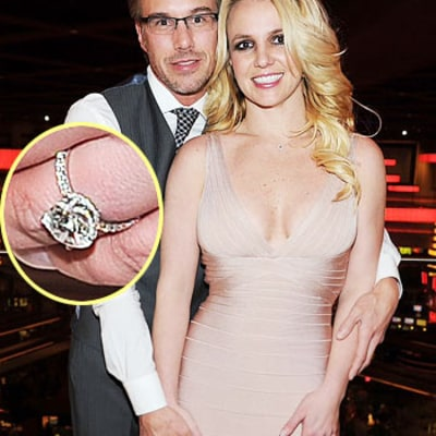 FIRST PIC: See Britney's Stunning Engagement Ring!