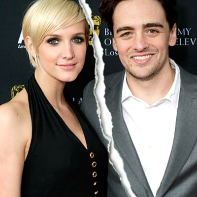 Ashlee Simpson, Vincent Piazza Split